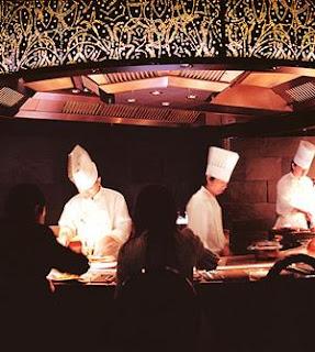 Teppanyaki at Morimoto XEX, Tokyo