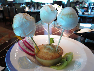 ICe-cream Trio at Blue Ginger Delhi