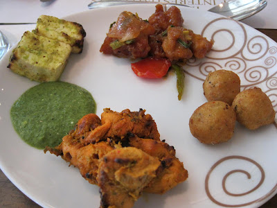Lunch buffet at Sayaji Hotel Pune