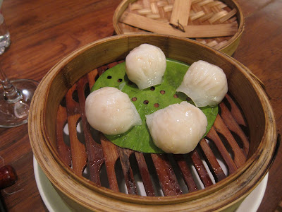 Crystal Prawn Dumplings at China House