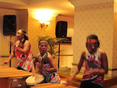 African drums in Johannesburg