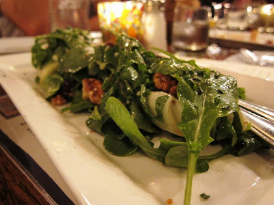 Arugula Salad at Willi's Seafood and Raw Bar Healdsburg