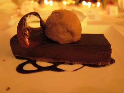 Chocolate Fondant at Dry Creek Kitchen Healdsburg