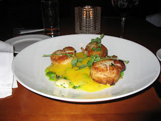 Scallops at One Market