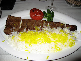 Chello Kabab Barg at Arya