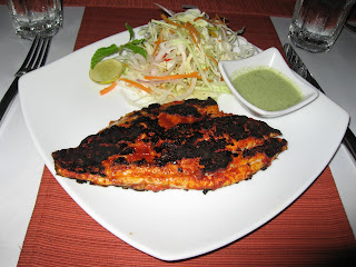 Grilled Sea Bass Goa Style