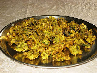 Bhajis or Pakoras