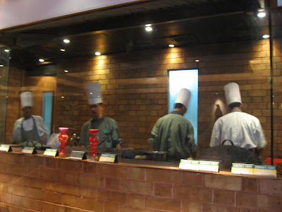 Open Kitchen of Barbeque Nation