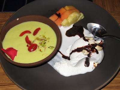 Desserts at Barbeque Nation