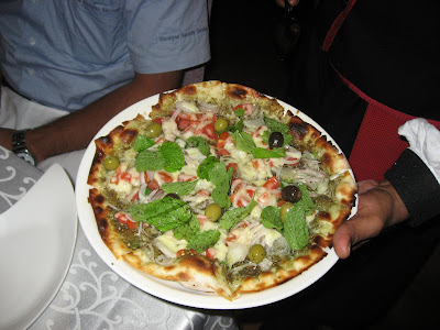 Chef's Special Pizza at Azulia Chennai