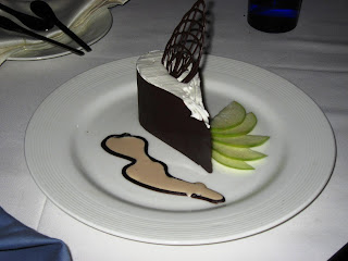 Chocolate Teardrop with Pear Mousse