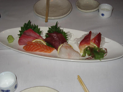 Sashimi Sampler at Fuki Sushi