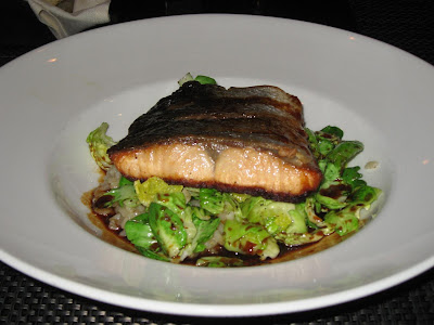 Salmon Entree at Park Place Cupertino