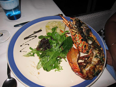 Grilled Lobster at Blu