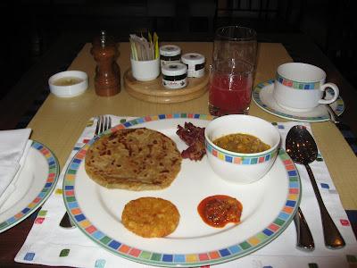 Parathas at Cafe Fontana