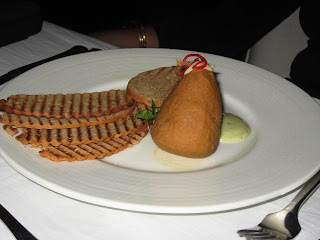 Shammi style lamb pate at Stone Water Grill