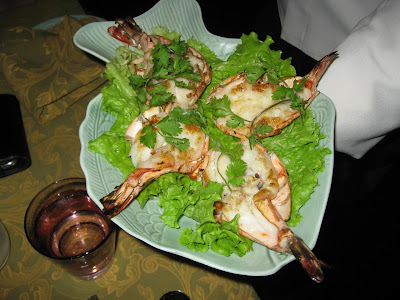 Charcoal Grilled Prawns at The Spice Route New Delhi