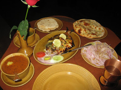 Lunch at the Bukhara New Delhi