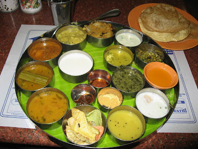 Lunch at Saravana Bhavan