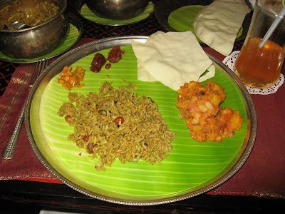 Delicious Rice Dishes at Annalakshmi Chennai