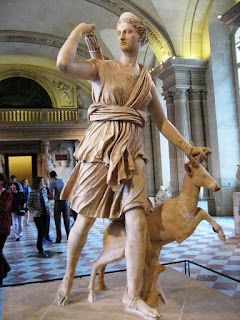 Aremis and Deer at the Louvre