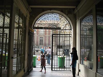 Galerie Vivienne near Palais Royale