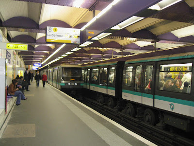 Metro Station in Paris