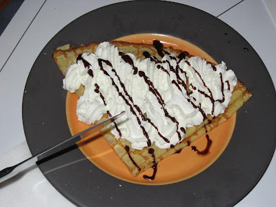 Crepe with Cream