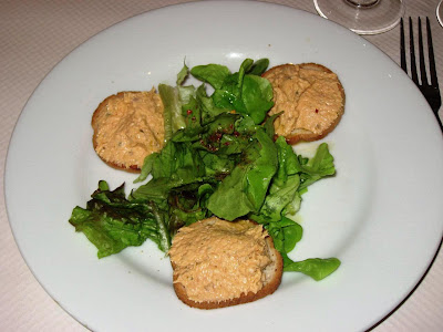 Salmon Rillette at L'Artoise, Paris