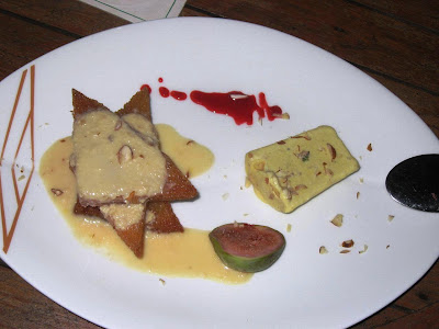 Shahi Tukra and Kulfi at Baypoint View