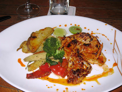 Snapper grilled at Baypoint View