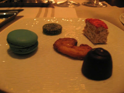 Desserts at Fifth Floor