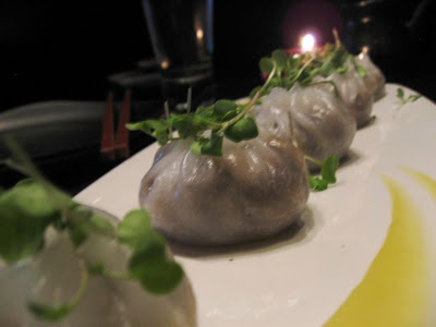 Wild Mushroom Dumplings at Sino