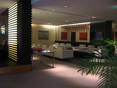 JetQuay lounge in Singapore's Changi airport