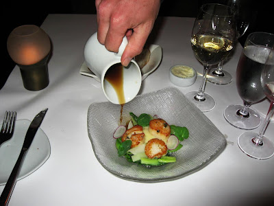 Sauteed Scallops at Cortez