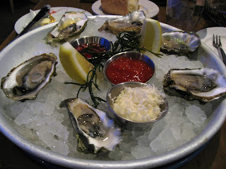 Oysters at Yankee Pier