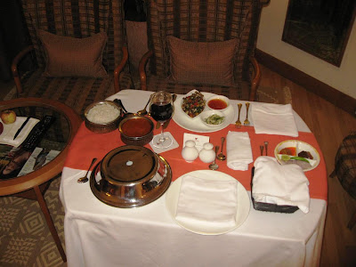 In-room Dining at The Trident Chennai