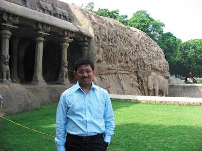Near Arjuna's Penance Mahabalipuram