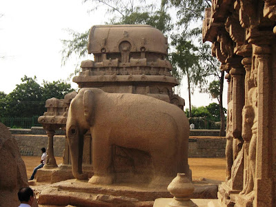 Panch Rathas at Mahabalipuram