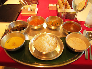 Thali at Maya in Trident BKC