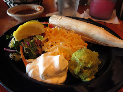 Fajitas at Canyon Cafe