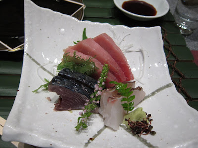 Sashimi at Edo in Bangalore