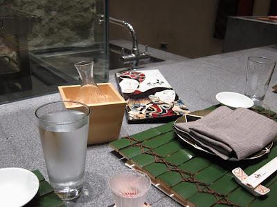 Sake at Edo in Bangalore