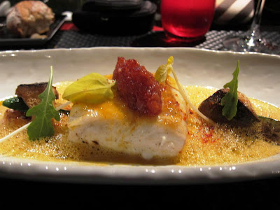 Halibut at l'Atelier de Joel Robuchon Vegas