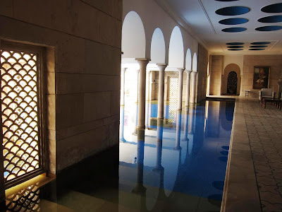 The Pool at Oberoi Amarvilas