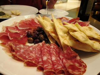 Cold cuts at La Terrazza Pune