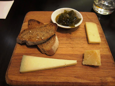Italian cheese at La Terrazza Pune