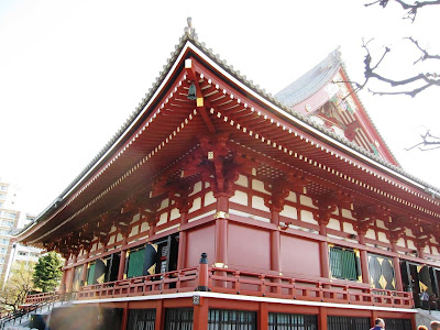 Akasuka Kannon shrine in Tokyo