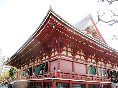 Akasuka Kannon shrine in Tokyo
