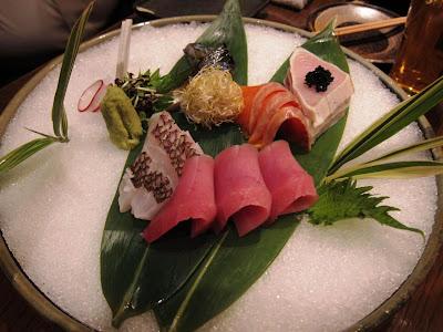Sushi at Shinobu Tei in Shibuya Tokyo